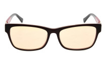 Computer Reading Glasses with Acetate Frames and Tinted Lens Brown AH6208