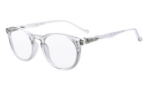 Reading Glasses Quality Spring Hinges Oval Round Readers Women Men Transparent R071
