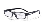 4 Pack Comfort Reading Glasses include Reader Sunglasses for Men Reading R9103-4pcs-Mix