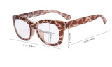 Oversized Glasses - Retro Eyeglasses Reading Glasses for Women - Black Frame FH1555