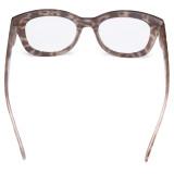 Oversized Glasses - Retro Eyeglasses Reading Glasses for Women - Brown/Tortoise Frame FH1555