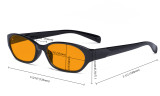 Blue Blocking Glasses for Women Nighttime Reading Computer Screen - Anti Digital Glare Eyewears with Orange Tinted Reduce Light Filter UV Protection Eyeglasses - Tortoise DS9101