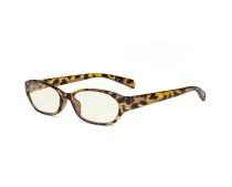 Blue Light Filter Glasses Anti Glare Blocking UV Rays -  Digital Eyeglasses for Women Reading Computer Screen - Tortoise UVR9101