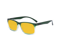 Blue Light Glasses - Design Computer Eyeglasses Reading Glasses with Amber Tinted Filter Lens for Men Women Anti Screen Glare Blocking Digital UV Rays - Green HP1805