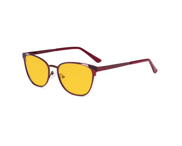 Blue Light Blocking Glasses for Women Block Digital Glare - Butterfly Design Computer Eyegalsses Women Anti Screen UV Rays with Amber Tint Filter Lens - Red LX19035-BB90