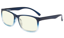 Blue Light Glasses - Design Computer Eyeglasses Readers for Men Women Anti Screen Glare Blocking Digital UV Rays - Blue UVRT1805