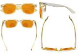 Blue Light Blocking Bifocal Glasses for Women Reading Computer Orange Tinted Nighttime Sleeping Bifocals Readers Yellow DSS027
