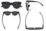 Bifocal Glasses for Women Reading under the Sun Stylish Bifocal Readers Tinted Lens - Black SBR9110