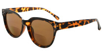 Bifocal Glasses for Women Reading under the Sun Stylish Bifocal Readers Tinted Lens - Tortoise SBR9110