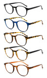 5-packing Reading Glasses Round Readers for Women Reading R9115A