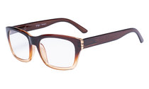 Reading Glasses Quality Spring Hinge Temples with Large Square Frame Men Women Brown R045