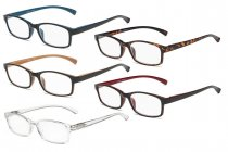 Reading Glasses 5 Pairs Comfort Readers Women Men Mix Color R177