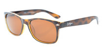 Sunglasses Polarized Classic Men Women Brown Lens SR093
