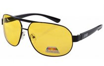 Sunglasses Polarized Night Vision Driving Pilot Include Case Yellow S3840