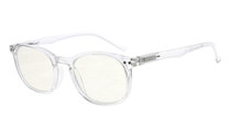 Computer Glasses UV Protection Tinted Lenses Vintage Women Men Transparent Frame CG065