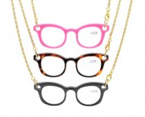 3er Pack Mix Mini Halskette Lesebrille NR001-Mix-3St