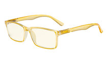 Computer Glasses - Yellow Light Filter Readers - UV420 Protection Stylish Quality Spring Hinges Reading Glasses - Yellow UVR802