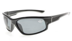Bifocal Reading Sunglasses UV400 Protection Polarized with Quality TR90 Frame TH6199PGSG