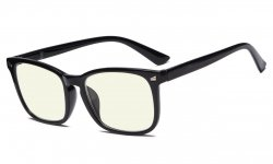 Stylish UV Protection Reading Glasses Computer Readers for Women Black CGT1801
