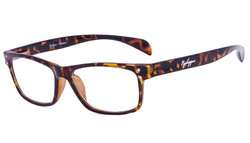 Reading Glasses Sport Style Design with Quality Spring Hinge Temples Tortoise R090