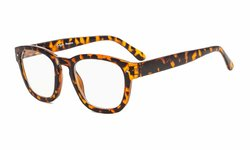 Reading Glasses Classic Design Frame with Quality Spring Hinges Readers Tortoise R089