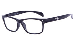 Reading Glasses Sport Style Design with Quality Spring Hinge Temples Black R090
