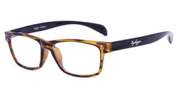 Reading Glasses Sport Style Design with Quality Spring Hinge Temples Amber R090