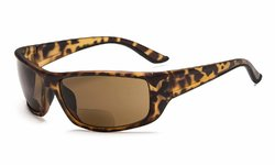 Sports Bifocal Sunglasses DEMI-Frame SGS038