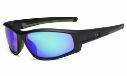 Bifocal Sunglasses for Sports TR90 Outdoor Green-Mirror S045-Bifocal