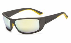 Sports Bifocal Sunglasses Gold-Mirror SGS038