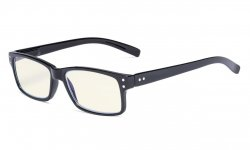 Computer Glasses UV Protection Anti Glare/Blue Rays Readers Black-Light-Lens CG032