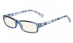 Computer Reading Glasses Digital Eye Strain Prevention Blue UVRT1803