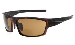 Bifocal Sunglasses UV400 Protection Quality TR90 Frame Sport Design Sunshine Readers Men Matte-DEMI SG904-Bifocal