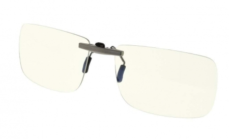 Clip-On Computer Glasses Rimless for Digital Eyestrain Relief CG3