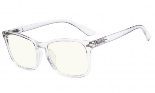Stylish UV Protection Reading Glasses Computer Readers for Women Clear CGT1801