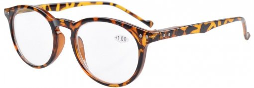 Reading Glasses Quality Spring Hinges Oval Round Readers Women Men Tortoise R071