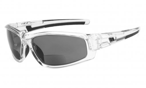 Bifocal Sunglasses for Sports TR90 Outdoor Clear-Frame S045-Bifocal