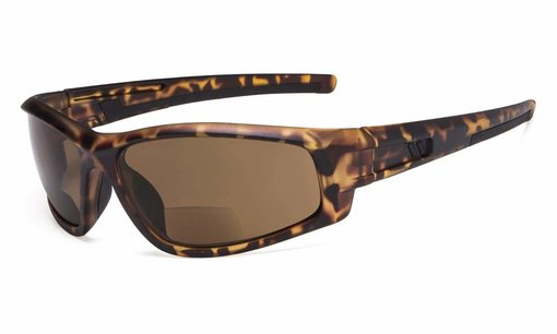 Bifocal Sunglasses for Sports TR90 Outdoor DEMI-Frame S045-Bifocal