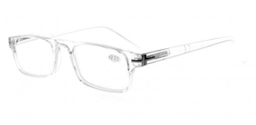 Reading Glasses Metal Frame Spring Hinges Crystal Clear Vision Readers Transparent Frame RID30315