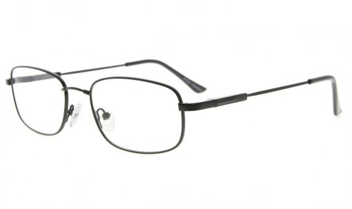 Bendable Titanium Memory Reading Glasses Readers Black R1703