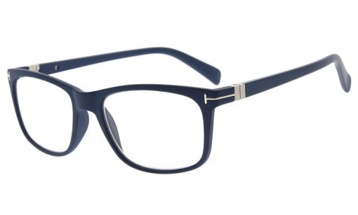 Transition Lesebrille. Photochrome Glas Damen und Herren Blau BSR150