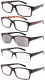5-pack Vintage Reading Glasses Includes Sun Readers