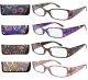 Geometric Pattern Reading Glasses 4-pack