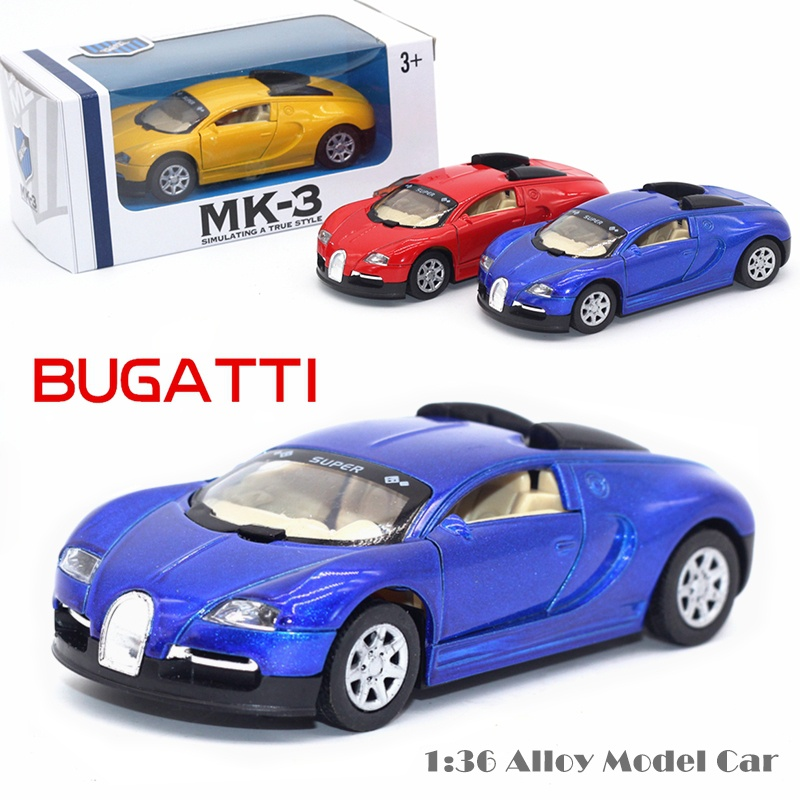 1 36 Casts Alloy Model Car Bugatti Veyron High Simulation Toys Toy Best Gifts For Children Item No Wjbugattiv 3