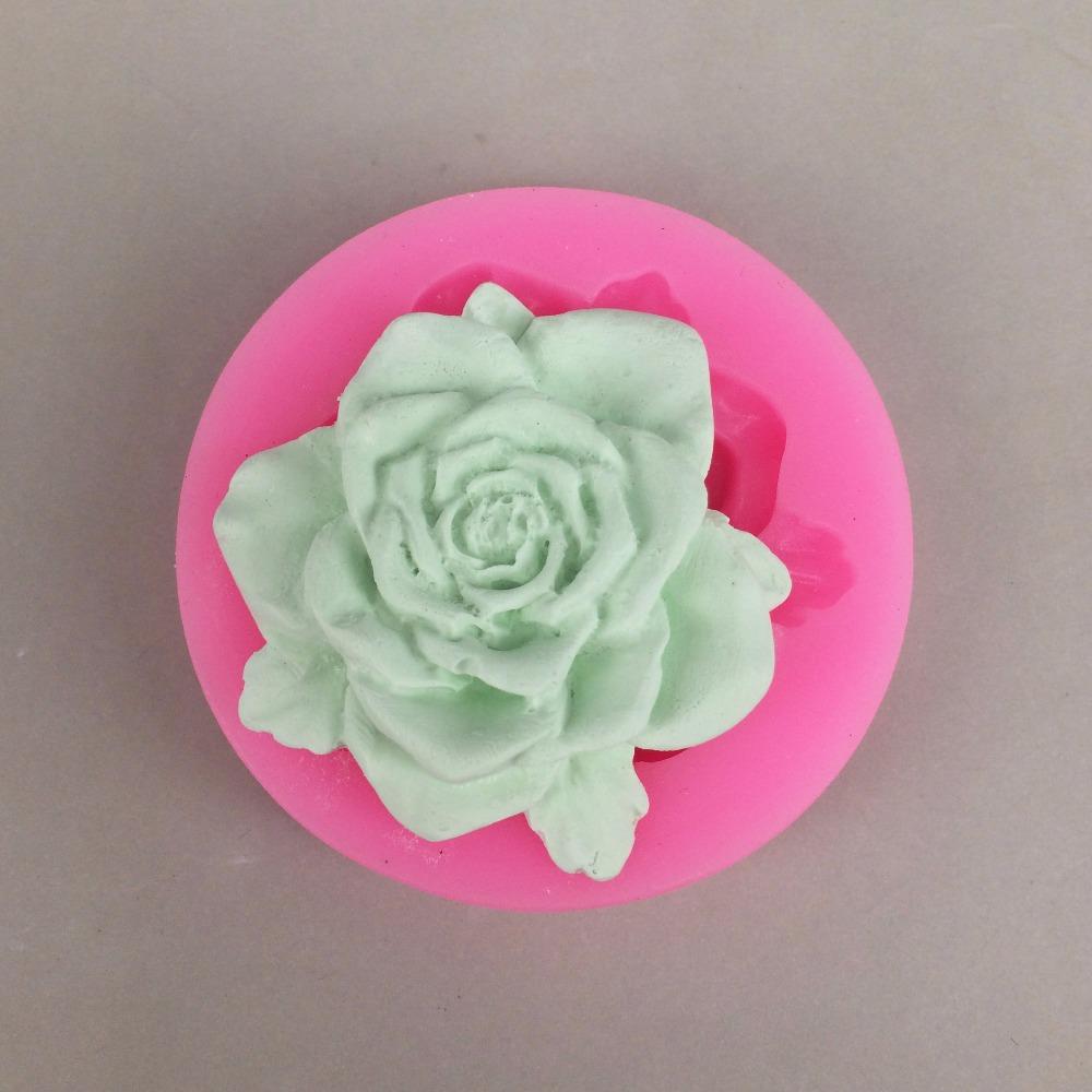U1005 3d Silikon Blumen Ton Sussigkeiten Formen Fondant Kuchen