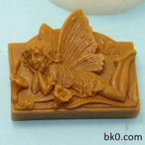 Flowers Angel Silicne Soap Mold Silicon Cake Molds AC006