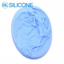 Angel Silicone Molds Soap Chocolate Candle Cookie Mould Cake Decorating Tools AH013 Direct Selling