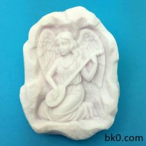 Silicone Angel Mold Soap 3d Music Girl Cake Molds Fondant Cake Decoration Mold AT025