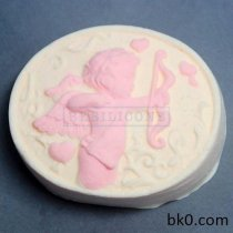 Factory Wholesale rubberr Moulds Cupid Chocolate Mold Silicone Soap Mould Sgs Lfgb Fda Ce Eu Stocked AE006