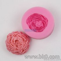 BJ010 3D Rose Flower Cake Silicone Mold Fondant Cake Decorating Candy Molds Resin Clay Soap Mould